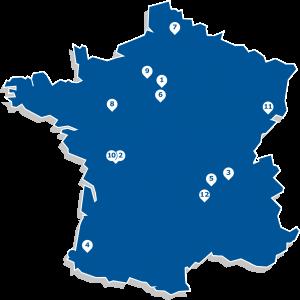 Carte France_numero